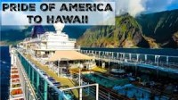 Norwegian Pride of America Sailing Hawaiian Islands